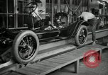Image of Chassis of Model T Fifteen Millionth car Highland Park Michigan USA, 1927, second 10 stock footage video 65675031965