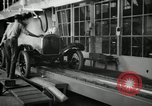 Image of Chassis of Model T Fifteen Millionth car Highland Park Michigan USA, 1927, second 18 stock footage video 65675031965