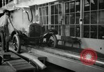 Image of Chassis of Model T Fifteen Millionth car Highland Park Michigan USA, 1927, second 19 stock footage video 65675031965