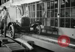 Image of Chassis of Model T Fifteen Millionth car Highland Park Michigan USA, 1927, second 20 stock footage video 65675031965