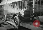 Image of Chassis of Model T Fifteen Millionth car Highland Park Michigan USA, 1927, second 22 stock footage video 65675031965
