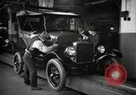 Image of Body assembly of Model T Fifteen Millionth car Highland Park Michigan USA, 1927, second 29 stock footage video 65675031966