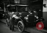 Image of Body assembly of Model T Fifteen Millionth car Highland Park Michigan USA, 1927, second 32 stock footage video 65675031966