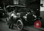 Image of Body assembly of Model T Fifteen Millionth car Highland Park Michigan USA, 1927, second 34 stock footage video 65675031966