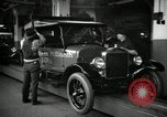 Image of Body assembly of Model T Fifteen Millionth car Highland Park Michigan USA, 1927, second 38 stock footage video 65675031966