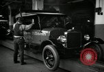 Image of Body assembly of Model T Fifteen Millionth car Highland Park Michigan USA, 1927, second 40 stock footage video 65675031966