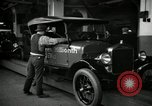Image of Body assembly of Model T Fifteen Millionth car Highland Park Michigan USA, 1927, second 55 stock footage video 65675031966