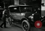 Image of Body assembly of Model T Fifteen Millionth car Highland Park Michigan USA, 1927, second 56 stock footage video 65675031966