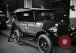Image of Body assembly of Model T Fifteen Millionth car Highland Park Michigan USA, 1927, second 58 stock footage video 65675031966