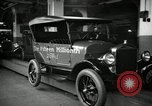 Image of Body assembly of Model T Fifteen Millionth car Highland Park Michigan USA, 1927, second 59 stock footage video 65675031966