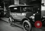 Image of Body assembly of Model T Fifteen Millionth car Highland Park Michigan USA, 1927, second 60 stock footage video 65675031966