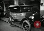 Image of Body assembly of Model T Fifteen Millionth car Highland Park Michigan USA, 1927, second 61 stock footage video 65675031966