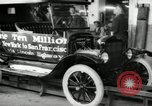Image of Model T Ten Millionth car Highland Park Michigan USA, 1924, second 10 stock footage video 65675031967