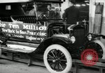 Image of Model T Ten Millionth car Highland Park Michigan USA, 1924, second 11 stock footage video 65675031967