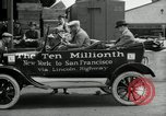 Image of Model T Ten Millionth car Highland Park Michigan USA, 1924, second 50 stock footage video 65675031967
