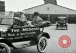 Image of Model T Ten Millionth car Highland Park Michigan USA, 1924, second 52 stock footage video 65675031967