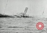 Image of Single funnel freighter sinking United States USA, 1919, second 4 stock footage video 65675031981