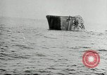 Image of Single funnel freighter sinking United States USA, 1919, second 16 stock footage video 65675031981