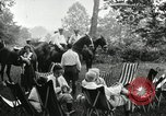 Image of camping party Maryland United States USA, 1921, second 11 stock footage video 65675031991