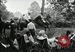Image of camping party Maryland United States USA, 1921, second 13 stock footage video 65675031991