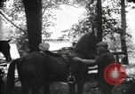 Image of camping party Maryland United States USA, 1921, second 18 stock footage video 65675031991