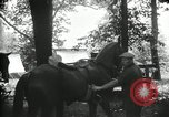 Image of camping party Maryland United States USA, 1921, second 19 stock footage video 65675031991