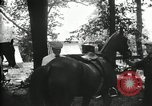 Image of camping party Maryland United States USA, 1921, second 21 stock footage video 65675031991