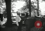 Image of camping party Maryland United States USA, 1921, second 23 stock footage video 65675031991
