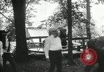 Image of camping party Maryland United States USA, 1921, second 24 stock footage video 65675031991