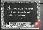 Image of group camping Maryland United States USA, 1921, second 1 stock footage video 65675032002