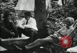 Image of group camping Maryland United States USA, 1921, second 10 stock footage video 65675032002