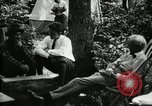 Image of group camping Maryland United States USA, 1921, second 16 stock footage video 65675032002