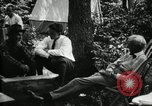 Image of group camping Maryland United States USA, 1921, second 18 stock footage video 65675032002