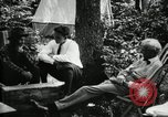 Image of group camping Maryland United States USA, 1921, second 20 stock footage video 65675032002