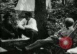 Image of group camping Maryland United States USA, 1921, second 21 stock footage video 65675032002