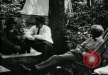 Image of group camping Maryland United States USA, 1921, second 22 stock footage video 65675032002