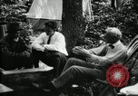 Image of group camping Maryland United States USA, 1921, second 23 stock footage video 65675032002