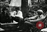 Image of group camping Maryland United States USA, 1921, second 24 stock footage video 65675032002