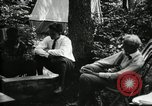 Image of group camping Maryland United States USA, 1921, second 27 stock footage video 65675032002
