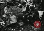 Image of group camping Maryland United States USA, 1921, second 37 stock footage video 65675032002