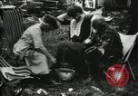 Image of group camping Maryland United States USA, 1921, second 38 stock footage video 65675032002