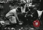 Image of group camping Maryland United States USA, 1921, second 39 stock footage video 65675032002