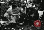 Image of group camping Maryland United States USA, 1921, second 40 stock footage video 65675032002