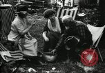 Image of group camping Maryland United States USA, 1921, second 42 stock footage video 65675032002
