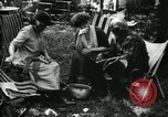 Image of group camping Maryland United States USA, 1921, second 43 stock footage video 65675032002
