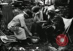 Image of group camping Maryland United States USA, 1921, second 44 stock footage video 65675032002