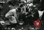 Image of group camping Maryland United States USA, 1921, second 45 stock footage video 65675032002