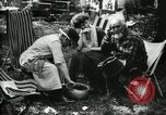 Image of group camping Maryland United States USA, 1921, second 46 stock footage video 65675032002