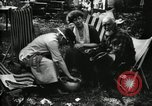 Image of group camping Maryland United States USA, 1921, second 47 stock footage video 65675032002