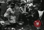 Image of group camping Maryland United States USA, 1921, second 49 stock footage video 65675032002